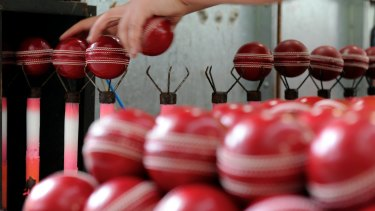 Kookaburra is trialling a new ball for use in the Sheffield Shield.