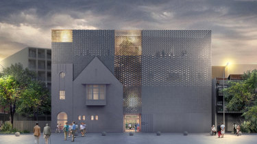 Kerstin Thompson'sdesign for the  Jewish Holocaust Centre in Elsternwick.