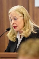 Royal commissioner Margaret McMurdo.