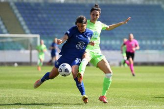 Sam Kerr has been in red-hot form for Chelsea.
