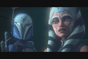 Star Wars: The Clone Wars.