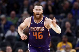 Aron Baynes is recovering after testing positive to COVID-19.