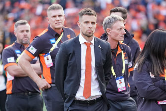 Brett Deledio retired from AFL football at the end of last year.