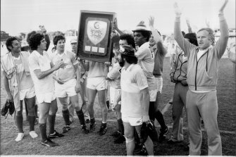 Not since Sydney City's National Soccer League premierships in 1980-82 has a team won three titles in a row.