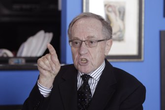 Attorney and law professor Alan Dershowitz has denied allegations of sex with an underage girl levelled against him.
