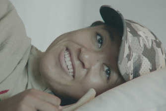 The three-part documentary captures the Japanese-born tennis player at her most relaxed, and her most vulnerable.
