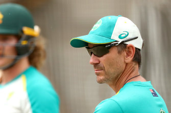 Justin Langer has been given strong feedback from players over his intense coaching style.