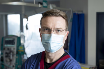 Dr Stephen Warrillow says hospitals and ICUs in Melbourne are gearing up for new cases.