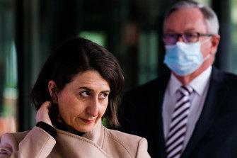 NSW Premier Gladys Berejiklian and Health Minister Brad Hazzard on Wednesday morning.