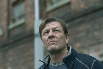 Sean Bean in writer Jimmy McGovern's masterful and compassionate prison drama Time.