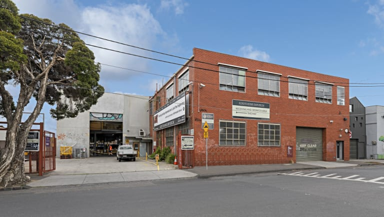 Schots warehouse at 63-69 Noone Street, Clifton Hill.
