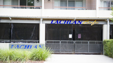 The Lachlan Cafe in Barton has closed without explanation.