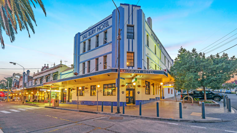 Salisbury Hotel in Sydney's inner-west suburb of Stanmore.