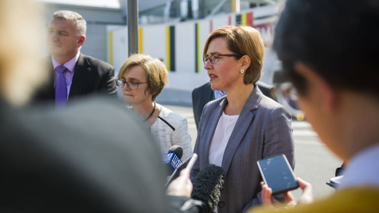ACT Health Minister Meegan Fitzharris, who announced the independent review on Monday.