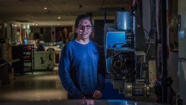 Canberra filmmaker Sebastian Chan.