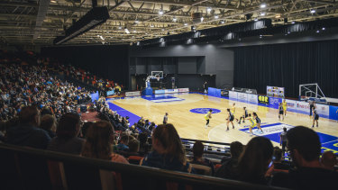 The Capital will continue playing games at the National Convention Centre this season.