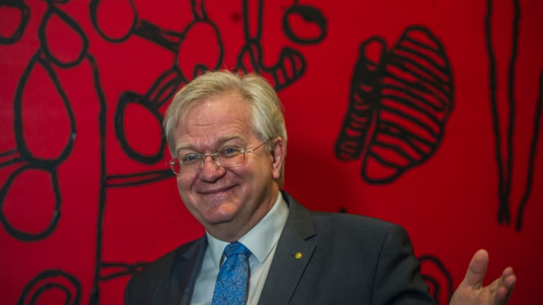 Australian National University's vice chancellor Brian Schmidt is paid much less than his counterparts across the country, but it's not the university driving his salary down.