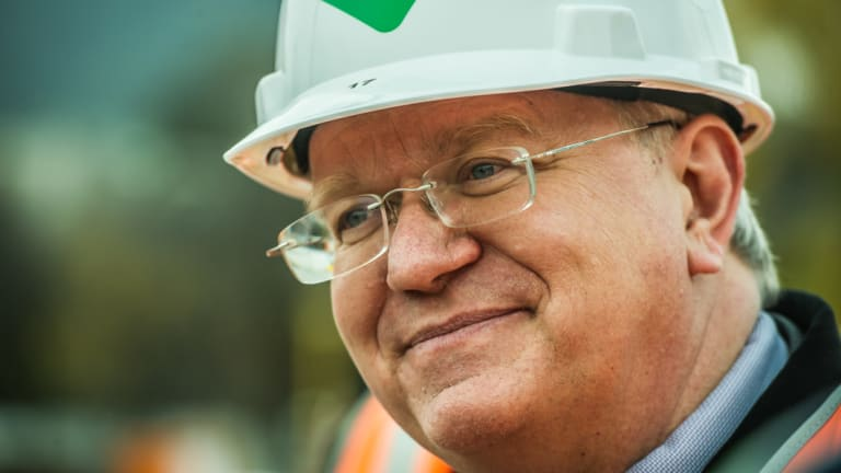 Professor Brian Schmidt said his conversations with the Prime Minister about the ANU's controversial Ramsay Centre back down went well.