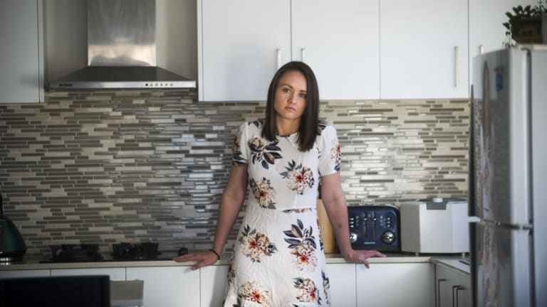 Canberra Nurse Amouri Strydom, who has been actively working towards buying her first home for the past two years. She's finding it difficult to save for her deposit.