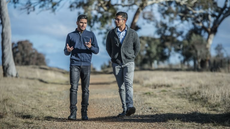 Yatin Malik, of India, and  Chandan Paul, of Bangladesh, have had their hopes of permanent residency in Australia dashed by ACT changes to visa rules.