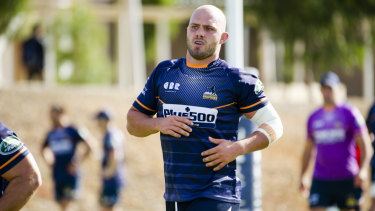 Reading the game: Lachlan McCaffrey is becoming indispensable to the Brumbies.