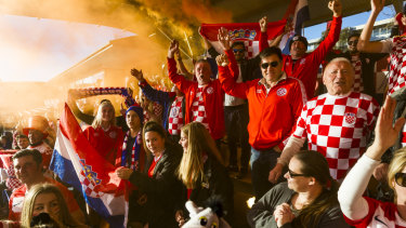 Big celebrations are planned for the final, regardless if Croatia win.