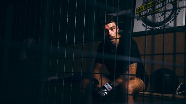 Canberra kickboxer Josh Tonna