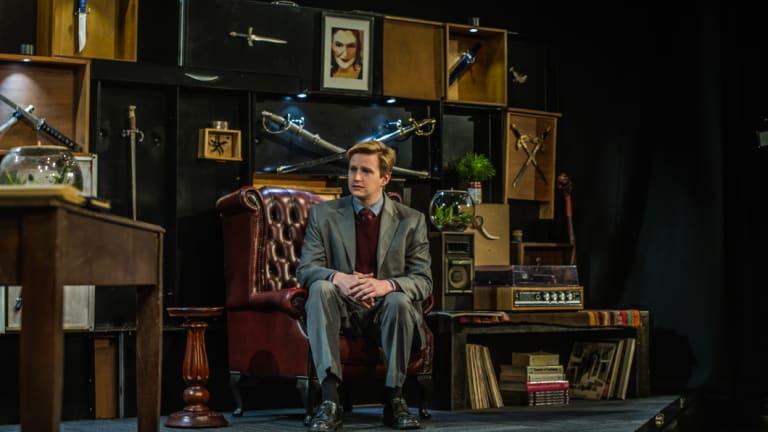 Lachlan Ruffy as Edward Ridgeway in <i>Switzerland</i>.