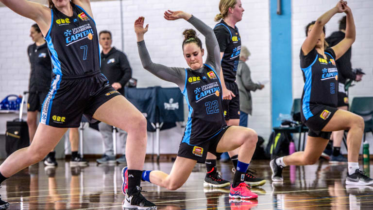 The Canberra Capitals return to pre-season training.