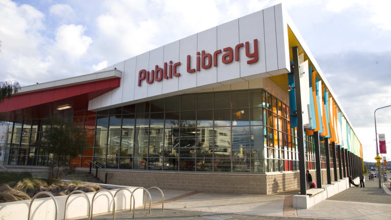 The Gungahlin Library. Some submissions have called for ACT public libraries to have longer opening hours.