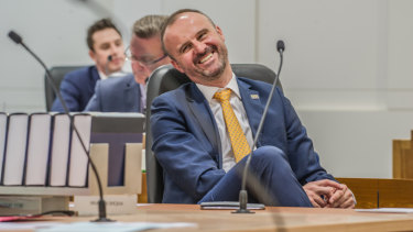 Chief Minister Andrew Barr says putting a dollar figure on answers to questions on notice is an accountability measure.
