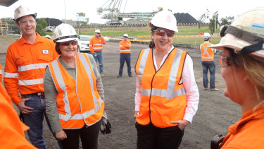"""Queensland Premier Annastacia Palaszczuk has announced a time frame of """"weeks, not months"""" for the Adani Carmichael coal mine approvals."""