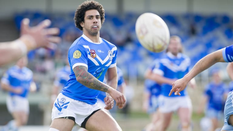 Queanbeyan Whites fullback Tom Ruediger has played union, league and sevens over the past five years.