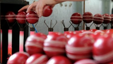 Kookaburra is trialing a new ball for use in the Sheffield Shield.