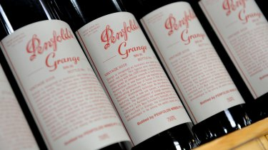 Treasury Wine Estates owns the Penfolds label.