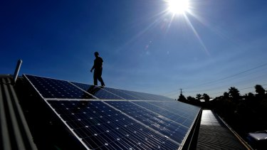 Less for more: Solar installations are running at record levels but feed-in tariffs are to be cut in NSW.