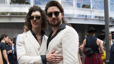 Electronic duo Peking Duk have come out swinging against the NSW state government.