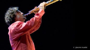 Jazz saxophonist Mirko Guerrini