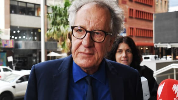 'I was numb': Geoffrey Rush says Telegraph branded him a 'pervert'