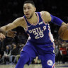 Simmons' 76ers top Pelicans after Davis' missed free throw