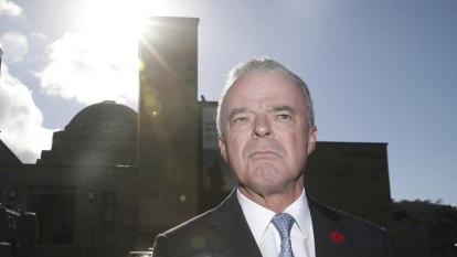 Australian War Memorial head defends weapons company donations