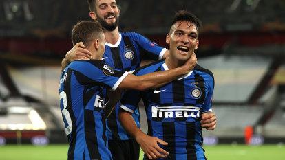 Martinez dazzles as Inter demolish Shakhtar to reach Europa League final