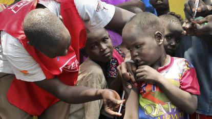 Millions of kids miss measles shot: UNICEF