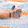 McKeown swims through fatigue, emotion to book second Tokyo slot