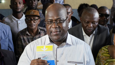 Felix Tshisekedi has been declared the winner in the presidential election.