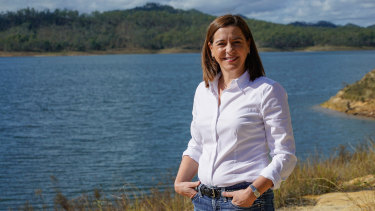 Liberal National Party leader Deb Frecklington.