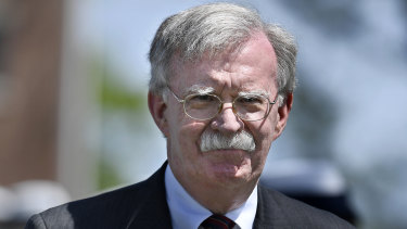 Supports action on Iraq: John Bolton.