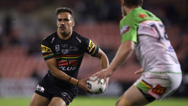 Daine Laurie is keen to quit Penrith and link with the Wests Tigers early.