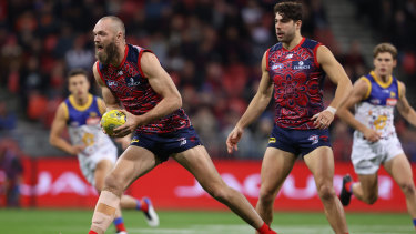 Gawn says one game in three weeks won't impede on Melbourne's flag push.