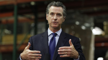 Gavin Newsom says he wants Imperial County in Southern California to reimpose a stay-at-home order amid a surge in positive coronavirus tests.